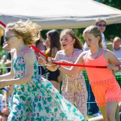 HoVEC Summer Festival Maypole Dancing